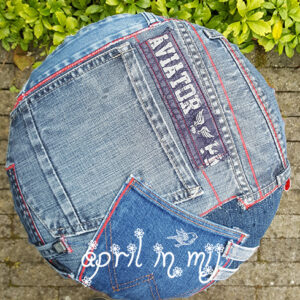 Cool jeans stool