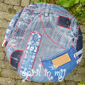 jeans stool